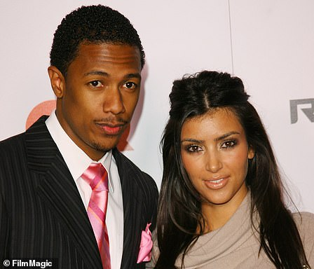 Fleeting:Kim briefly dated presenter Nick from 2006-2007