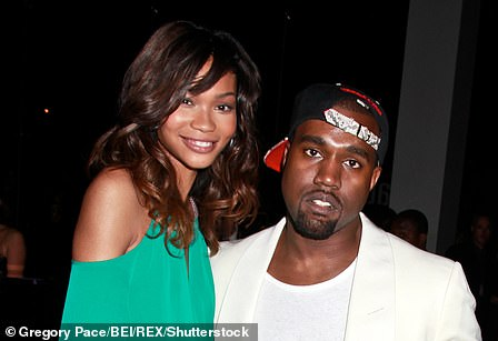 Did they or didn't they? He continued his model dating as he was linked to fellow VS star Chanel Iman (pictured 2011)