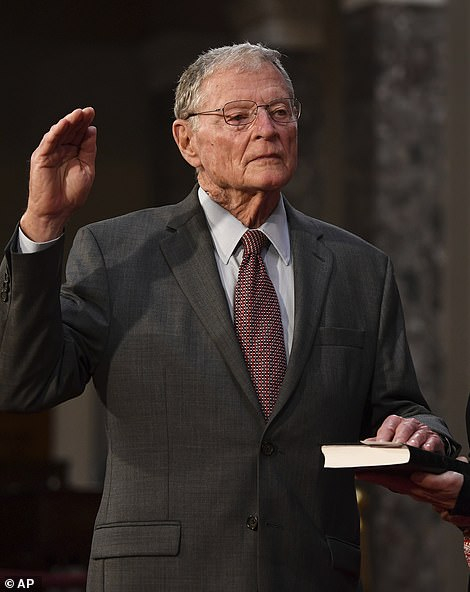 Republican Senator Jim Inhofe of Oklahoma