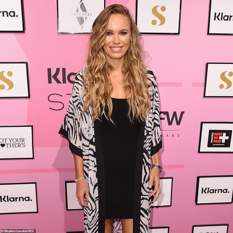 For sale:Caroline Wozniacki, shown in September 2019 in New York City, and her husband David Lee have listed their Florida condominium on tony Fisher Island for $17.5 million