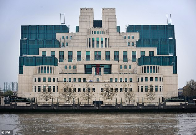 As well as police, MI5, MI6 (London headquarters pictured) and the National Crime Agency, the list of agencies includes the Gambling Commission, county and district councils, the Environment Agency and the Food Standards Agency.