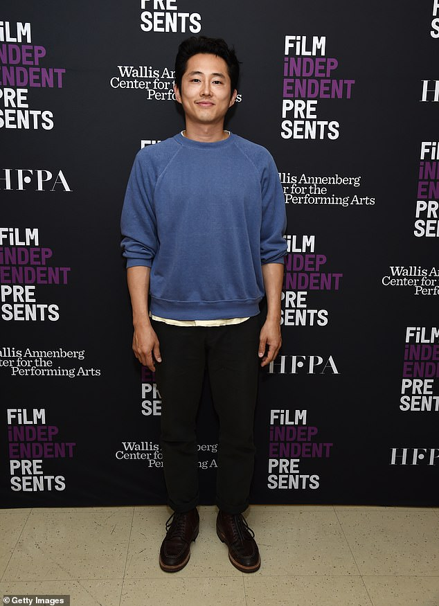"""Korean American:'I watched him, and I was like, """"Wow!"""" Here's a Korean American actor that I've never seen before, and he's on the screen, and it's pretty incredible. He was the first one not to be objectified or fetishized,' Yeun added"""