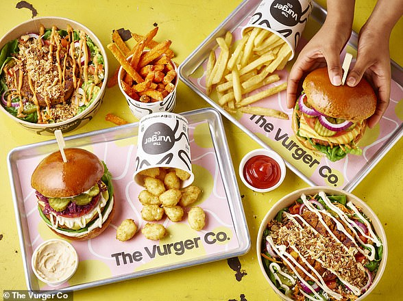 Customers can order The Vurger Co's signature vegan burger meal kits to try at home