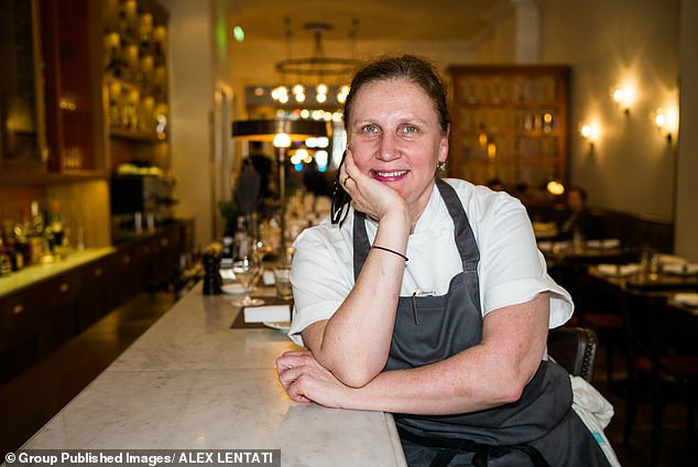 Angela Hartnett is one of the key supporters of the Seat at the Table campaign