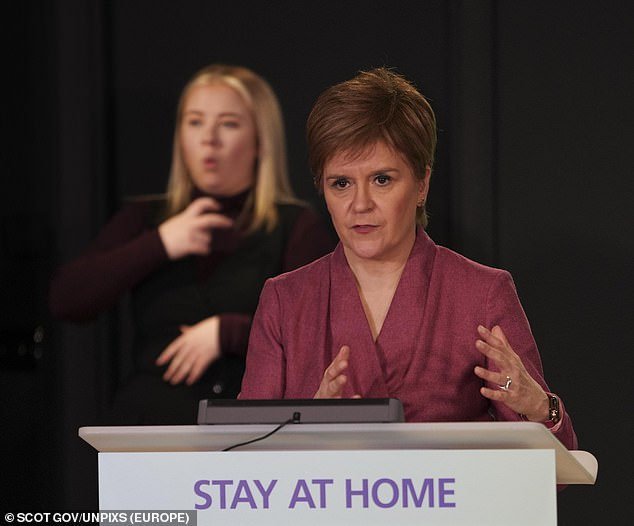 If the claims are proved to be true then it is likely Miss Sturgeon's political career could be over