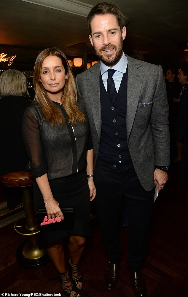 Exes:Louise divorced Sky Sports pundit Jamie in December 2017 after 19 years of marriage