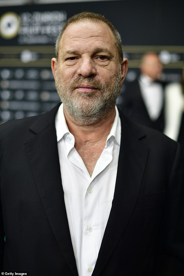 Remorse: Speaking seven years later and in the wake of the Me Too movement, Liam told how the video featuring the disgraced movie producer, 68, (pictured) still plays on his mind, as he remarked: 'I often think about that'
