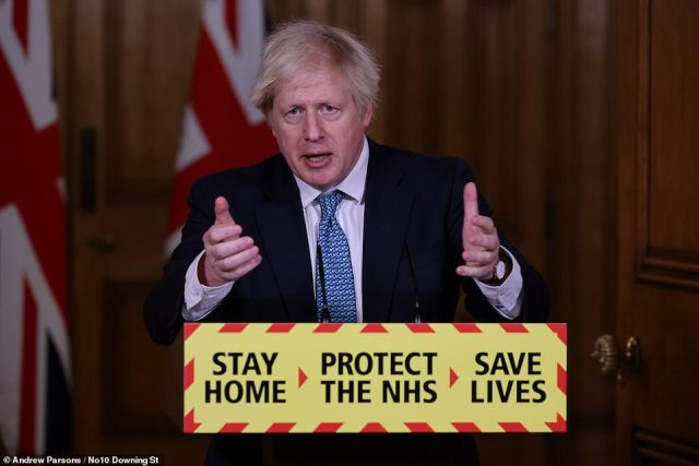 Prime Minister Boris Johnson has issued a plea to families and begged them to stay home to save lives as the UK recorded its highest death toll since the pandemic began today and the NHS launches a new ad campaign fronted by Chris Whitty