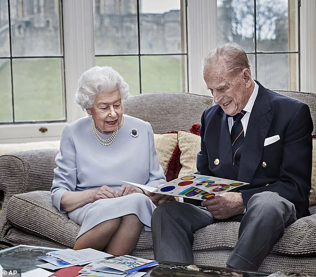 Health: The Queen, 94, and Prince Philip, 99, also received the Covid-19 vaccine over the weekend at Windsor Castle, Buckingham Palace revealed on Saturday