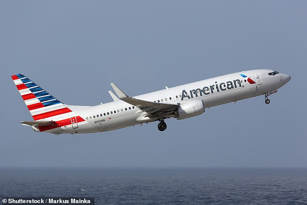 A spokesperson for American Airlines told DailyMail.com that passengers had refused to comply with request to wear face coverings