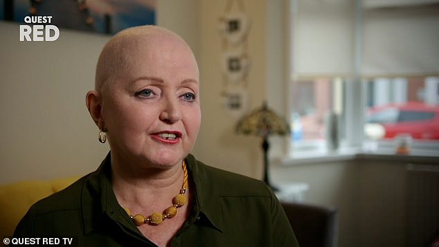 Honest: The singer, 62, opened up about her battle with cancer with Ok!  magazine as she revealed she has another scan coming up