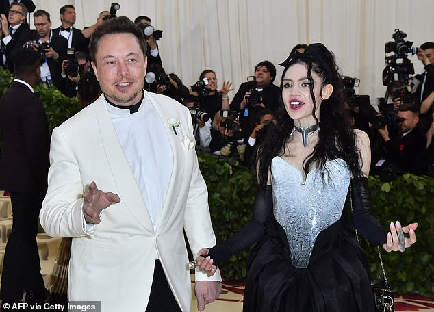 Top of the pack: Musk, who has been criticized for criticizing transgender rights on Twitter, recently overtook Jeff Bezos as the richest man in the world with a net worth of $ 209 billion, according to Bloomberg Billionaires Index ;  seen in May 2018