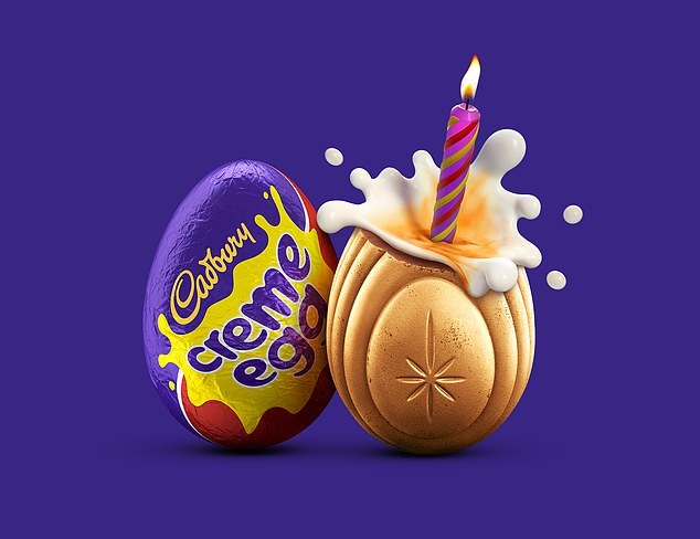 It comes after Cadbury revealed it had stashed 200 gold-coated cream eggs in stores across the UK, which could be worth £ 5,000 to anyone who finds them.  It's the treat's 50th anniversary this year