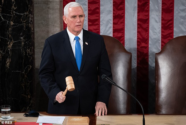 Mike Pence has not ruled out using the 25th Amendment to remove Donald Trump from office in the wake of Wednesday's riot on the US Capitol that left five dead