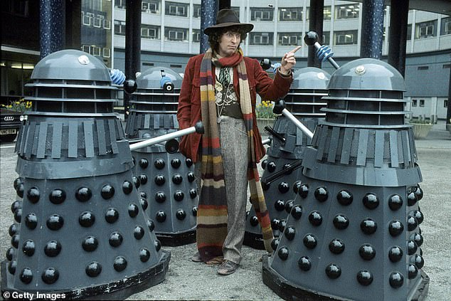Support: Whoopi, 65, admitted that she has even spoken about her big plans to Doctor Who alum Tom Baker, who was fan-favourite as the fourth Doctor from 1974 to 1981