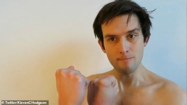 Yorkshire comedian Kieran Hodgson has taken to Twitter to stitch humor with the new Netflix period drama Bridgerton (portrayed as the Duke of Hastings in many of his topless boxing scenes).