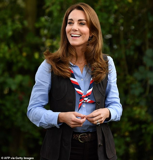 Kate Middleton roasts marshmallows during engagement