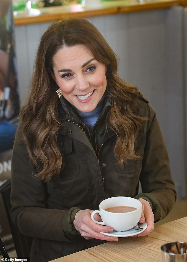 Kate had a 'quiet birthday' with a tea party hosted by Prince William and children George, seven, Charlotte, five, and Louis, two