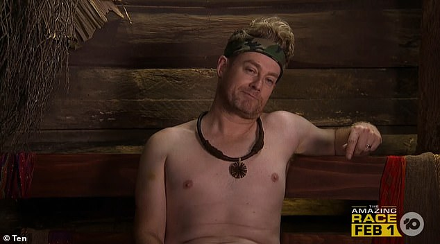 I'm A Celebrity starGrant Denyer recalls the time he stripped NAKED live on air