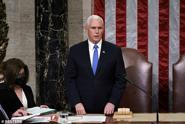 Mike Pence has not spoken publicly since Wednesday after the pro-Trump mob blamed him for Congress not overturning the election results. The vice president won't say if he will invoke the 25th Amendment to remove Trump from power with just 10 days left in his term