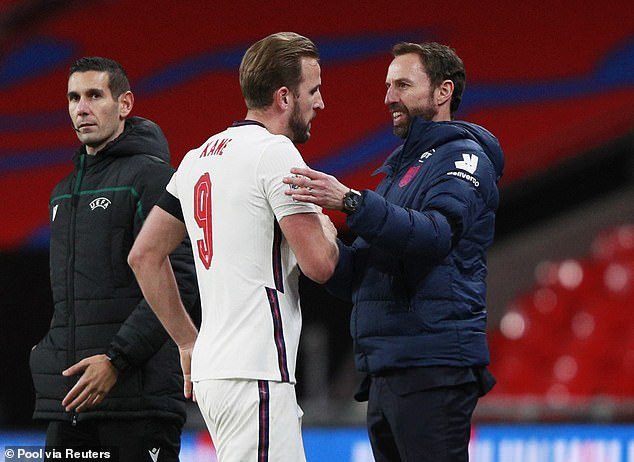 I am very impressed with the England national team under coach Gareth Southgate (right)