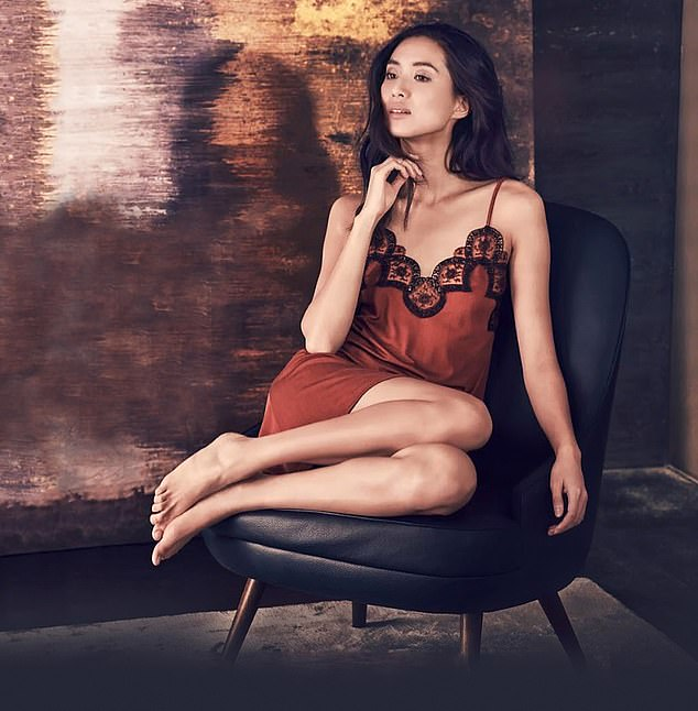 Shenyue Ding, a contestant on the new series of The Great Pottery Throw Down, slips into designer clothes for her very different work as a model