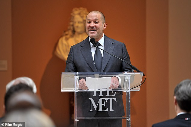 Those that have signed up include Bank of America, AstraZeneca, Schroders, HSBC, Heathrow Airport, Coutts, BP and Sir Jony Ive (pictured), the British-born former chief design officer at Apple