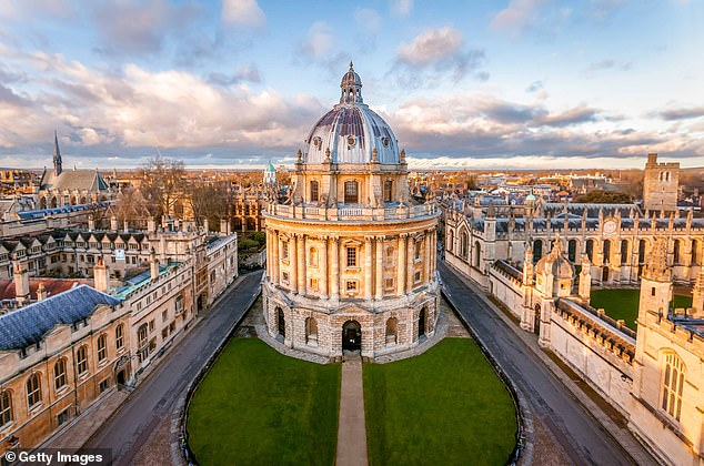 Bosses of many of the 24-strong Russell Group of top universities did take a hit to their pay, but have since gone back to full salaries, FOI revealed. Pictured:Oxford University
