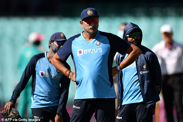 CA has been insistent all along the Test will go ahead at the ground as planned, after receiving positive feedback from the Board of Control for Cricket in India bosses (India's head coachRavi Shastri is pictured)