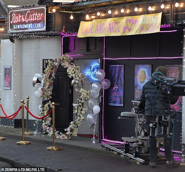Venue: The new scenes for the upcoming third series of Brassic were filmed at Lower Kersal Club in Salford, which is used as the series' Rat & Cutter Gentlemen¿s club