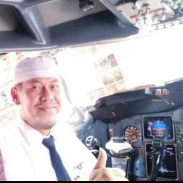 The plane's captain, Afwan, a 54-year-old father of three, who like many Indonesians goes by one name, was a former air force pilot with decades of flying under his belt