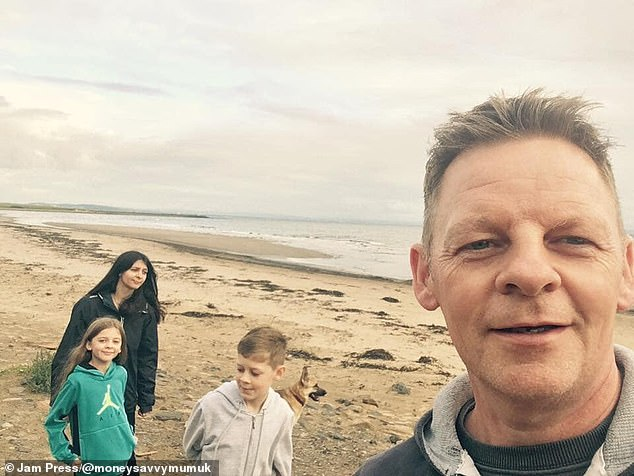 Despite saving a remarkable amount of money, Ruth said her family have had to make 'huge sacrifices' and haven't been on holiday abroad in eight years