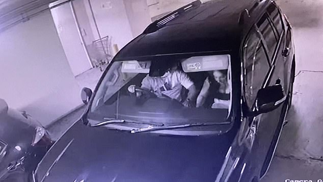 CCTV footage showed Kettule, wearing a white Adidas shirt and gold chains, arriving home with his partner just hours before his death at 7.30pm