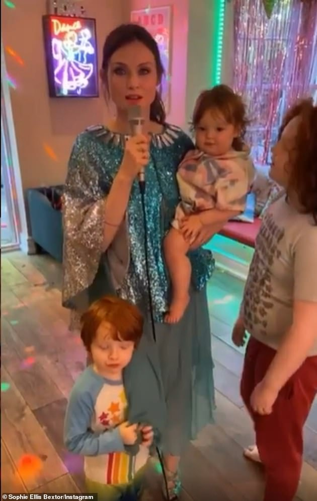 'Wacky idea': Mum of five boys Sophie says 'never say never' when it comes to expanding her family