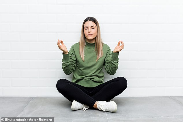 Researchers from the University of Cambridge say that we shouldn't assume mindfulness works for everyone, and highlight that exercise may be just as effective for some (stock image)