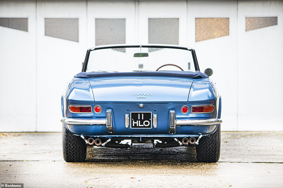 The auction house describes it as a 'rare jewel', being one of only 19 right-hand drive examples of the 200 luxury 275 GTSs produced over four years during Ferrari¿s ¿golden age'