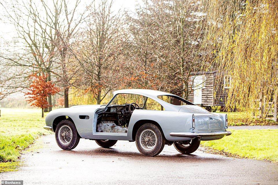 The vintage Aston Martin coupe will be offered to the highest bidder in an online classic car sale next month held in London by Bonhams