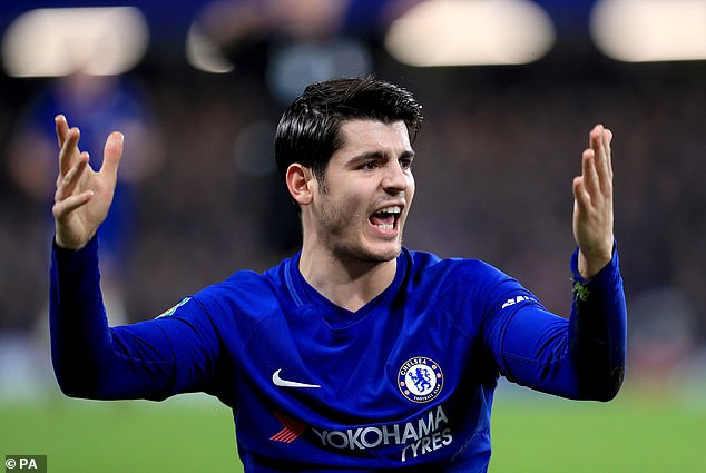 Alvaro Morata's time with Chelsea drove him to distraction as he struggled for goals