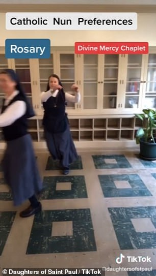 The Daughters of Saint Paul, who have convents in cities across the world, have racked up more than 45,000 followers on the video sharing site which has surged in popularity during lockdown.