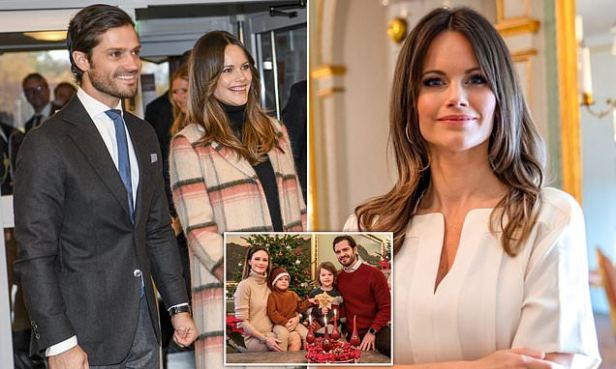 Princess Sofia of Sweden's pregnancy is 'going well' after Covid-19