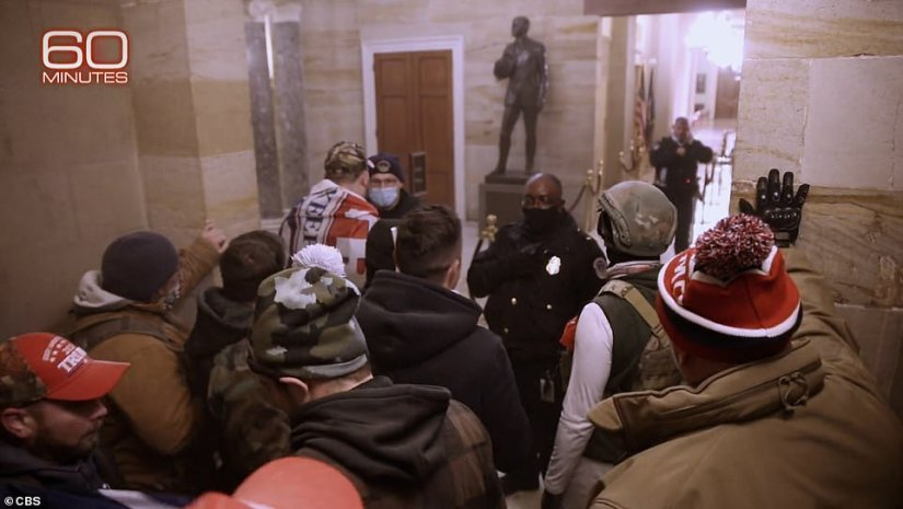 The mob of Trump supporters chanted Pelosi's name as they rampaged through the building
