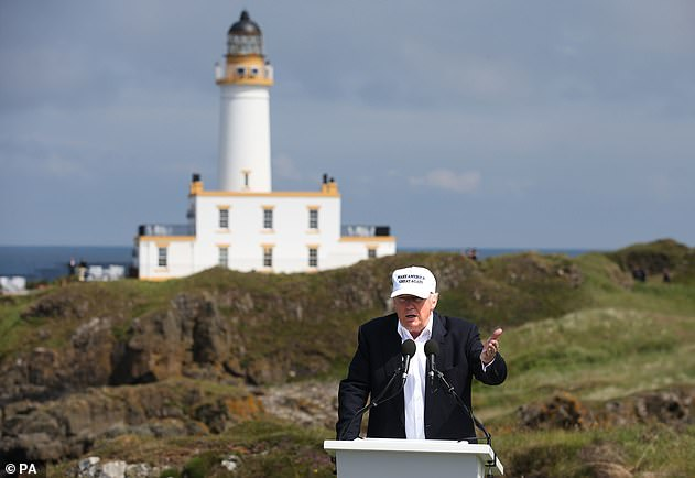 Turnberry won't stage The Open until chiefs are convinced the focus will be on golf and not owner Donald Trump