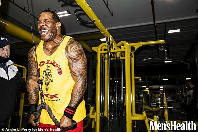 Fitness fiend:Busta Rhymes opened up about his incredible 100lb weight loss in a new interview with Men's Health Magazine