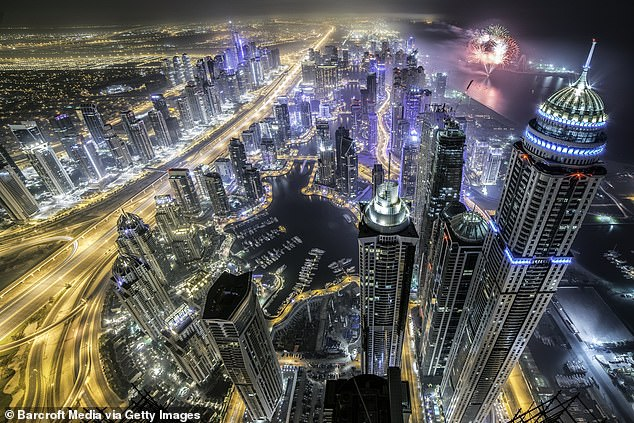 Travellers returning to the UK from the United Arab Emirates will have to quarantine from 4am tomorrow following a 52 per cent surge in the number of Covid cases. Pictured: Dubai