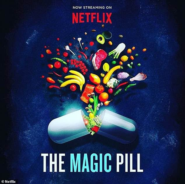 Banned: It comes after Evans' documentary The Magic Pill was recently removed from the streaming platform Netflix after its contract came to an end