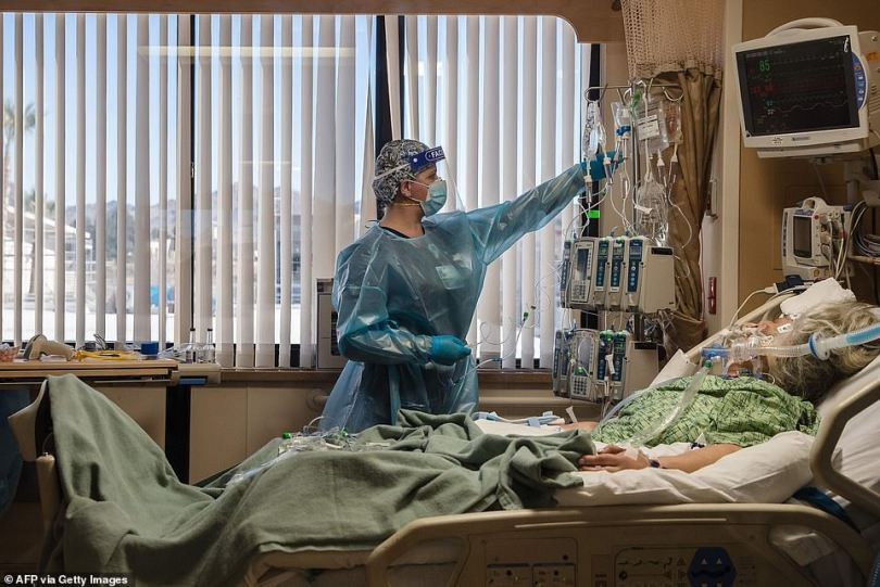 In some parts of California, it is not uncommon for almost all ICU beds to be occupied by coronavirus patients, creating a dire situation for other locals who arrived at the hospital in need of urgent treatment for car crashes and heart attacks