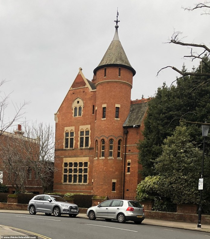 Page's historic Grade I listed house, considered one of London's most important houses, faces the street and he is furious with all the construction work
