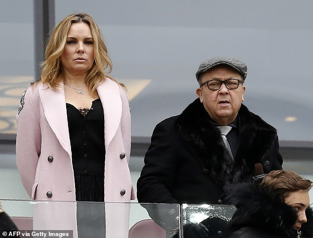 She is the partner of David Sullivan, who has been West Ham's chairman since 2010