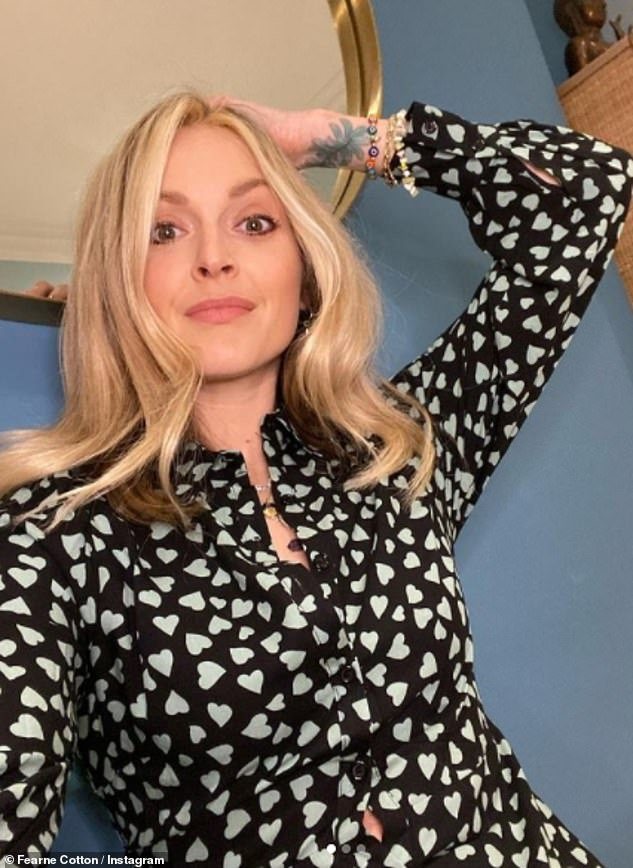 Open:Fearne cites her mental health as the reason for leaving these shows, and only has glowing things to say about the experience of being on them otherwise