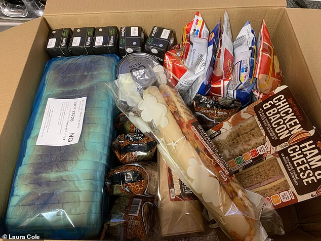 Some boxes have been praised by parents. St Dunstans School in Glastonbury were given top marks for this five days one, which included sandwiches and wraps from Real Wrap Co